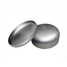 Заглушка нержавеющий эллиптическая 104х2,0 мм AISI 304, матовый, DIN