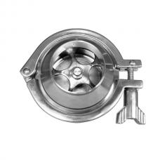 Обратный клапан С-C Type CLAMP DN100(104 mm), AISI 304