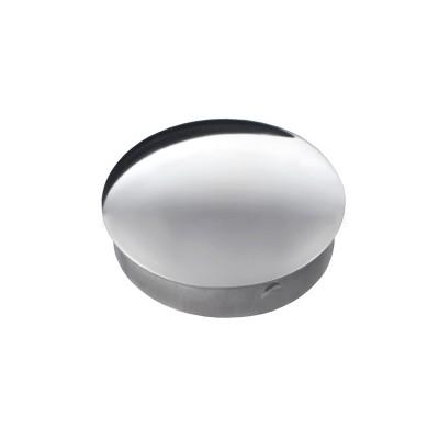 Заглушка плоская штампованная 38х1,0 мм AISI 304, зеркальная